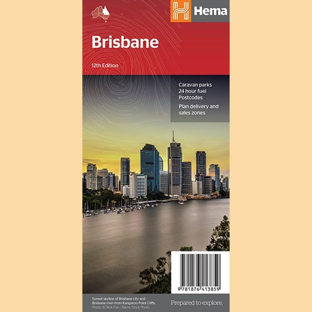 Stadtplan Brisbane \