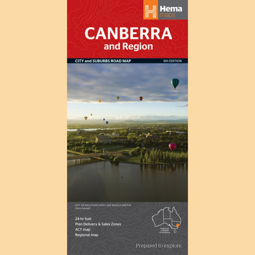 Stadtplan Canberra \