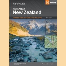 "Straßenatlas Neuseeland ""New Zealand Handy Atlas"""