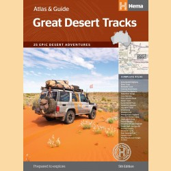 "Outback Atlas ""Great Desert Tracks Atlas & Guide"""