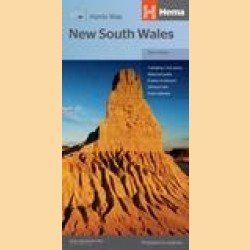 """Landkarte New South Wales """"New South Wales Handy"""""""