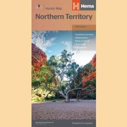 "Landkarte Northern Territory ""Northern Territory Handy"""