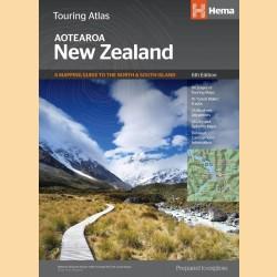 "Touring-Atlas Neuseeland ""New Zealand Touring Atlas"""