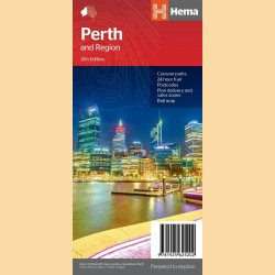 "Stadtplan Perth ""Perth & Region Handy"""