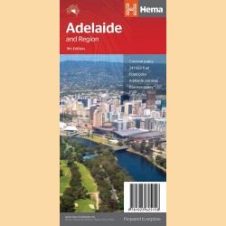 """Stadtplan Adelaide """"Adelaide & Region Handy"""""""