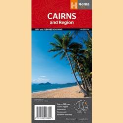 """Stadtplan Cairns & Umgebung """"Cairns & Region"""""""