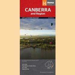 "Stadtplan Canberra ""Canberra & Region Handy"""