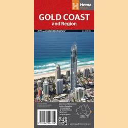 """Stadtpläne Gold Coast """"Gold Coast & Region Handy"""""""