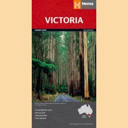 """Landkarte Victoria """"Victoria Handy"""""""