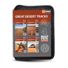 "Outback Landkarten ""Great Desert Tracks Map Pack"""