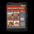 """Outback Landkarten """"Great Desert Tracks Map Pack"""""""