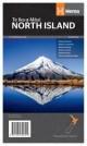 "Landkarte Neuseeland Nordinsel ""New Zealand - North Island"""