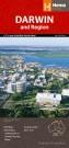 """Stadtplan Darwin """"Darwin & Region Handy"""""""