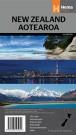 "Landkarte Neuseeland ""New Zealand Aotearoa"""
