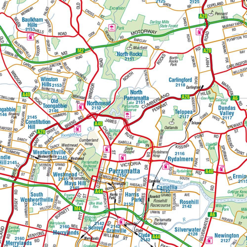 Stadtplan Sydney \